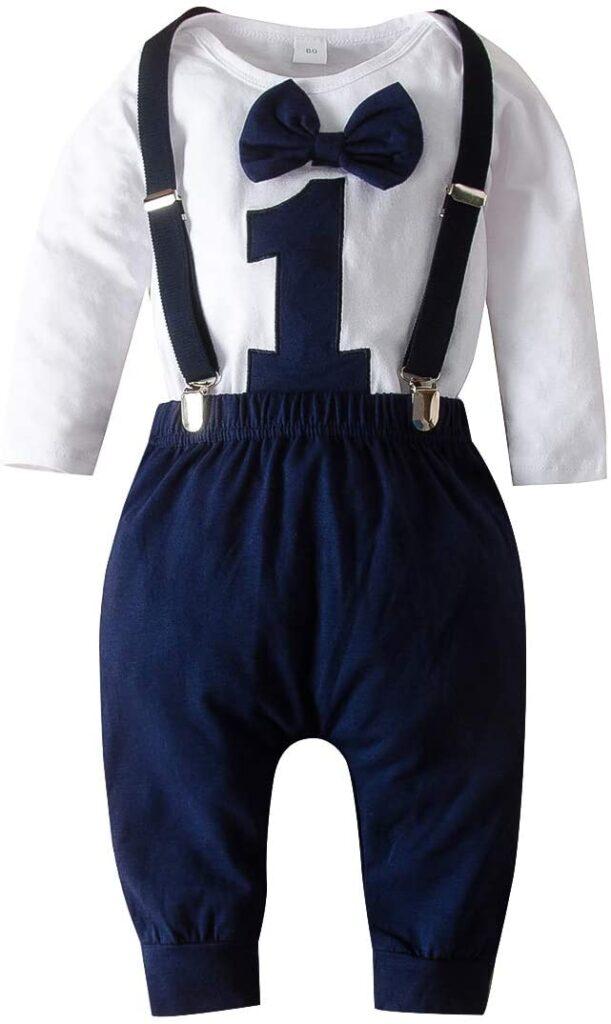 Eerste verjaardag versiering kleding