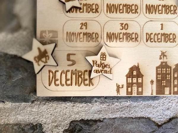 Aftelkalender Sinterklaas 2021